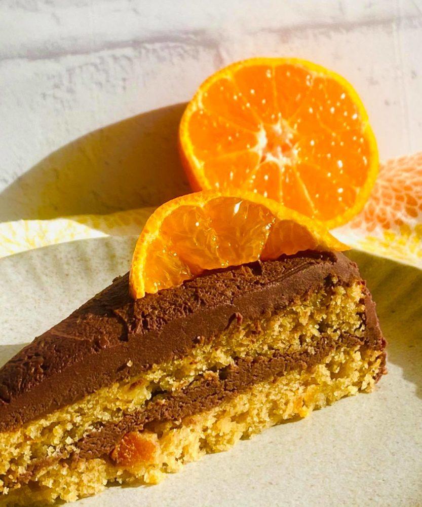単科講座 プラントベースのオレンジチョコレートケーキ
