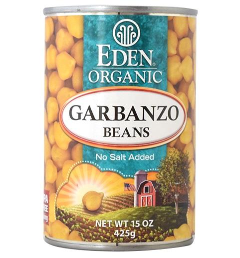 オーガニックひよこ豆缶