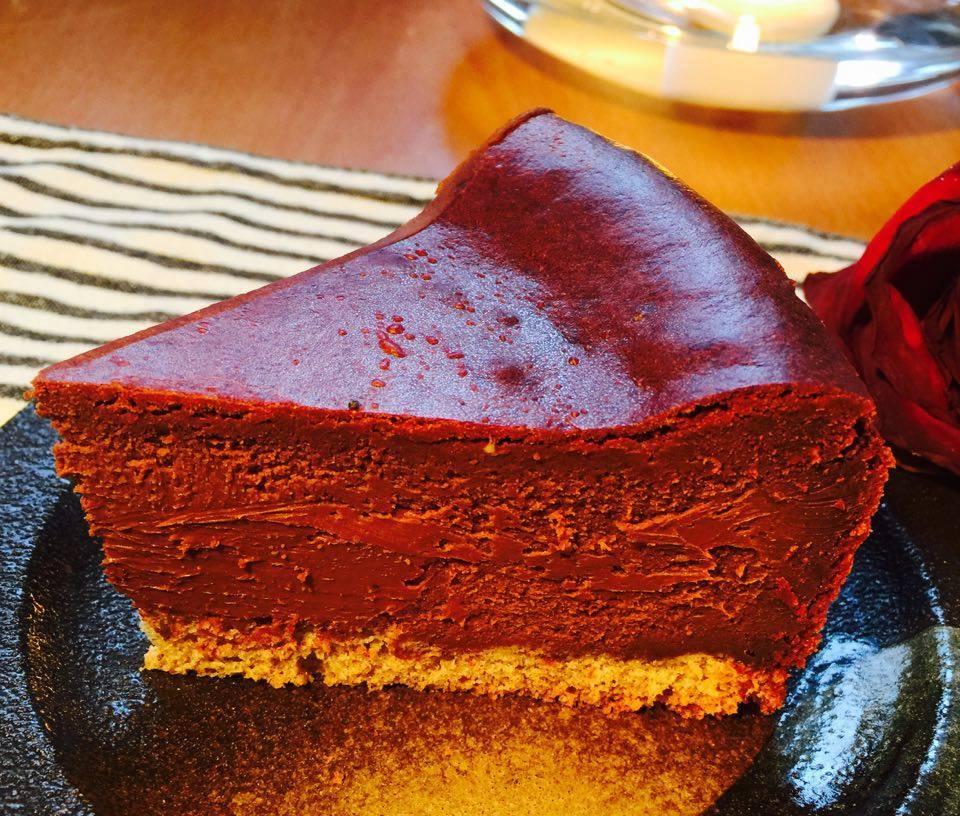 濃厚チョコレート三重奏チーズケーキ4号(12cm)