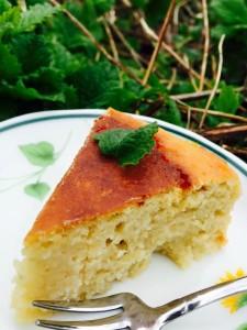 オーガニックひよこ豆&ココナッツのびっくりケーキ
